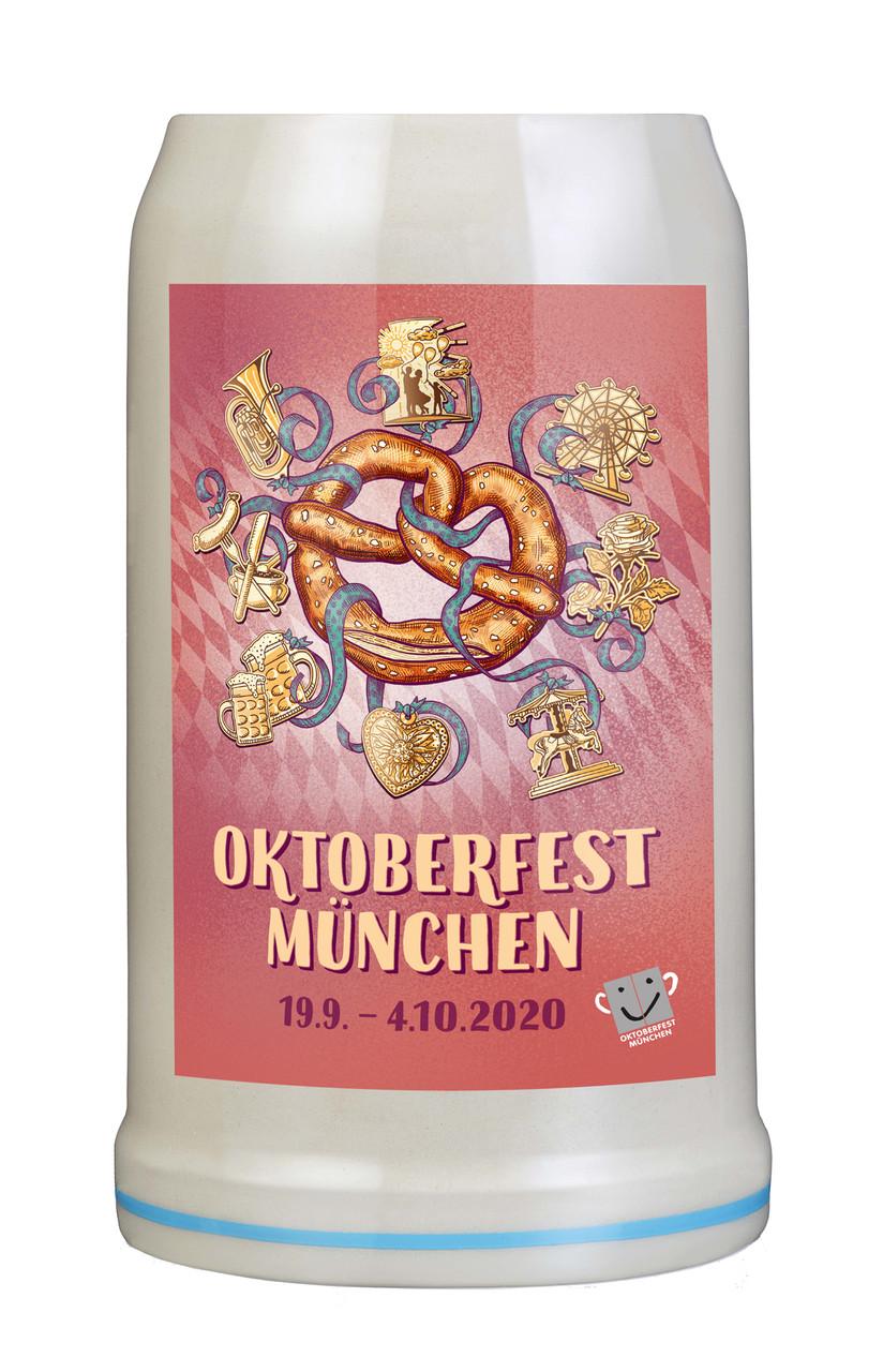 Munich 2020 Official Oktoberfest Beer Mug | Oktoberfest at Home