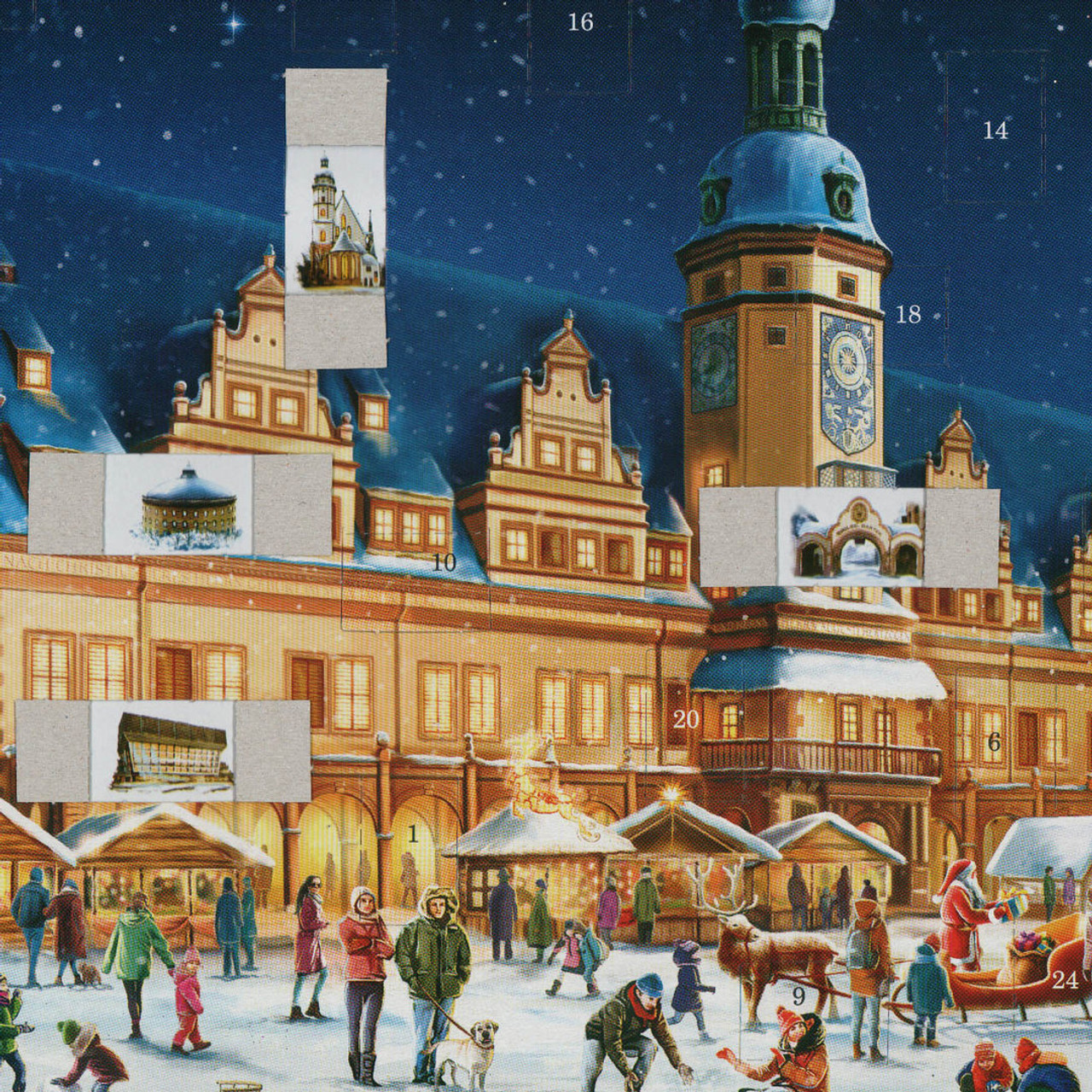 Leipzig German Advent Christmas Calendar