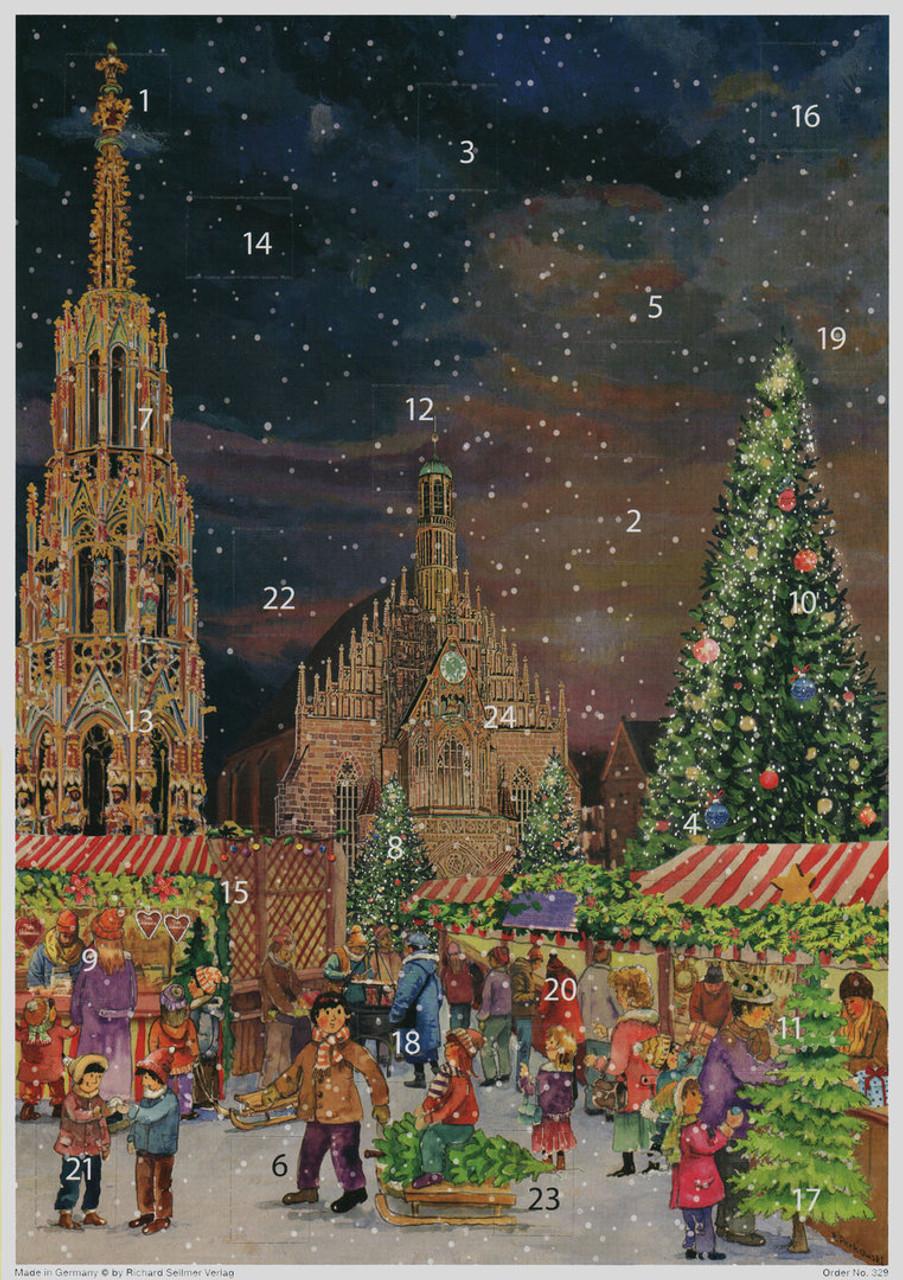 Nuremberg German Advent Christmas Calendar