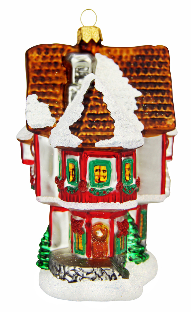 Santas Workshop Christmas Ornament