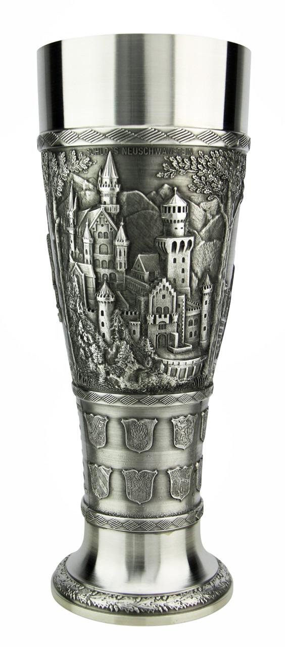 Bavaria Pewter Wheat Beer Tulip