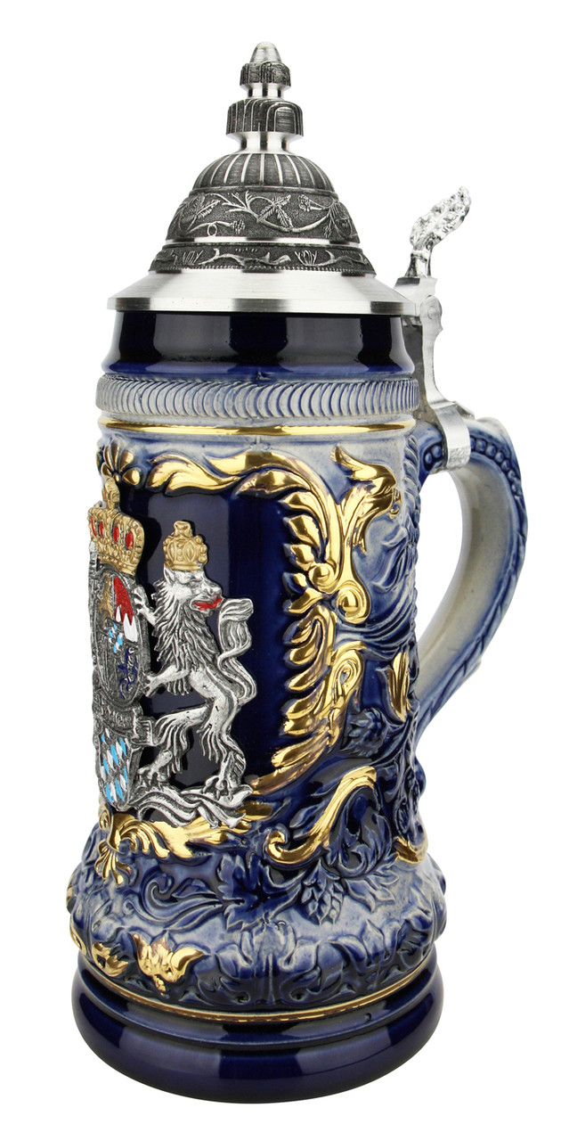 Bavaria Royal Lion Crest Beer Stein