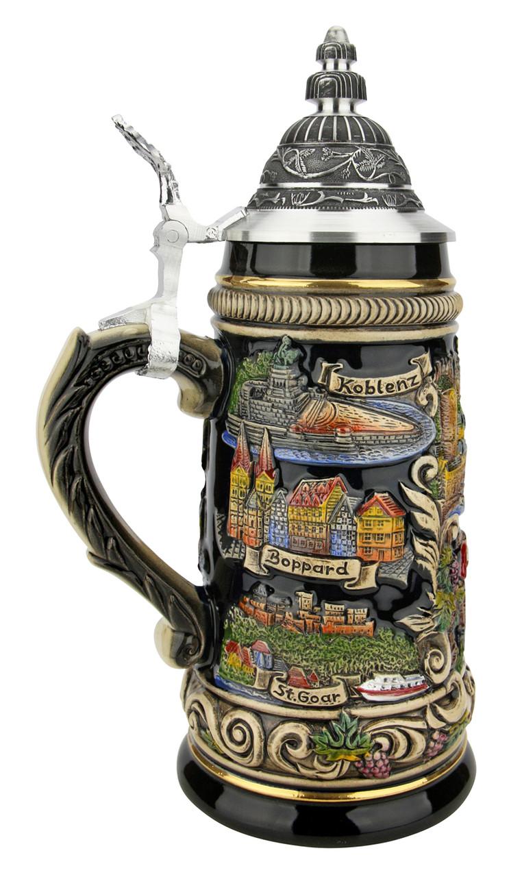 Rhein River German Beer Stein