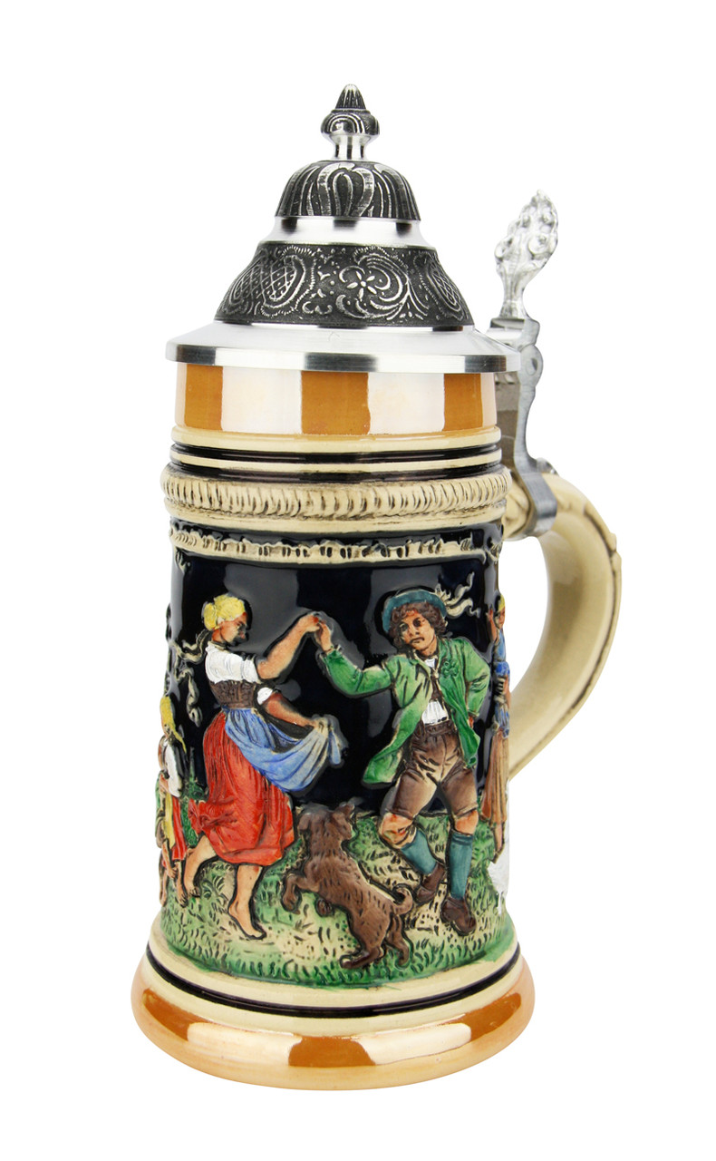 May Dance Traditional German Beer Stein | 0.3 Liter