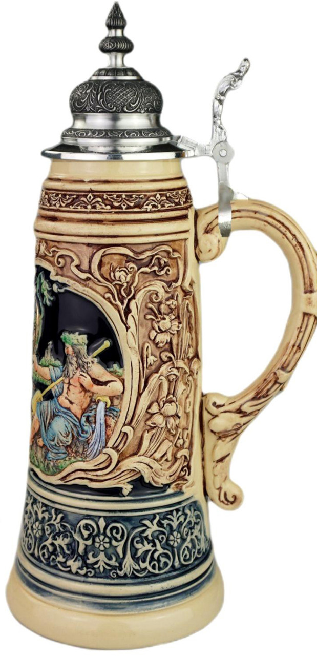 King Limitaet 2021 | Rhein and Mosel River Handpainted Beer Stein