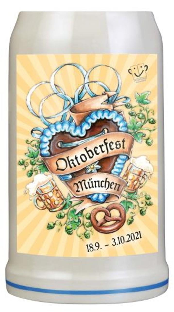 Munich 2021 Official Oktoberfest Beer Mug   Oktoberfest at Home