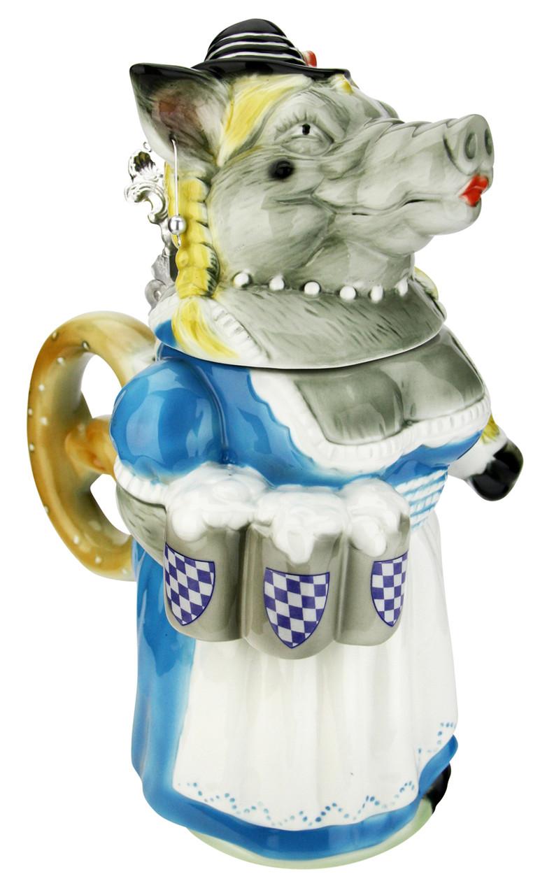 Rosie the Bavarian Boaress Beer Stein
