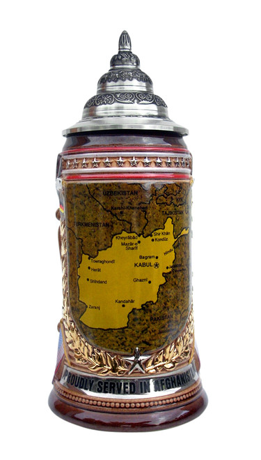 Afghanistan Commemorative Beer Stein
