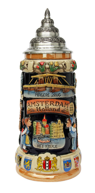 Amsterdam Holland Panorama Beer Stein