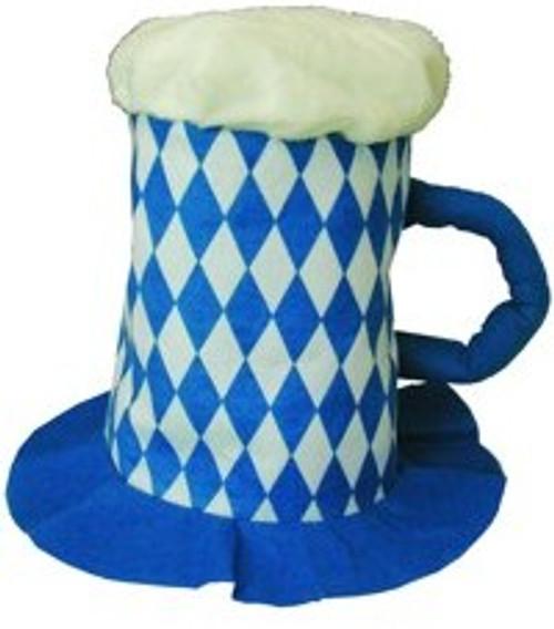 Bavarian Flag Party Beer Mug Hat