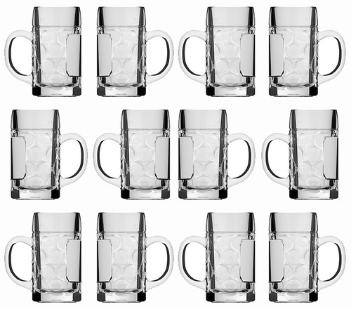 Beer Mug Shot Glass Rastal 12 Pack