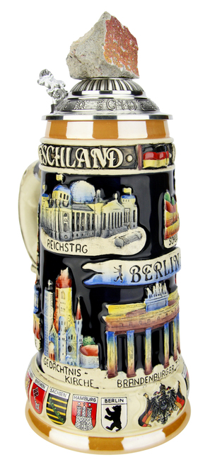 Berlin Wall Beer Stein