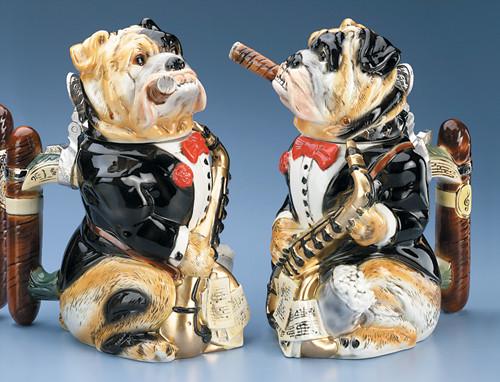 Big Band Bulldog Beer Stein
