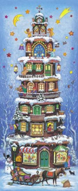 Christmas House German Advent Calendar