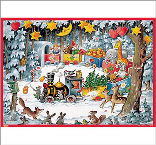 Christmas Train German Advent Calendar