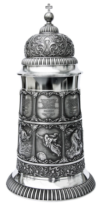 Creation Pewter Beer Stein