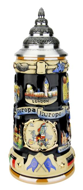 Europe Souvenir Beer Stein