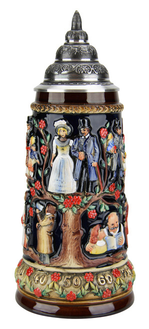 Authentic German Wedding Beer Stein for Sale