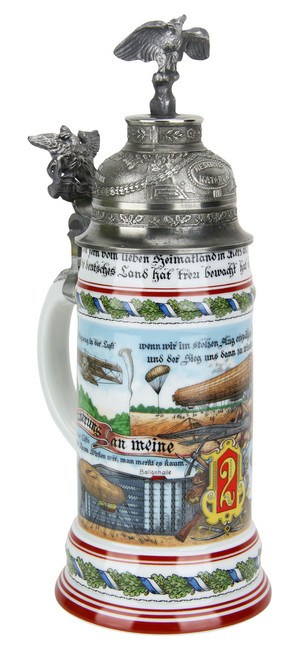 German Air Force Regimental Beer Stein