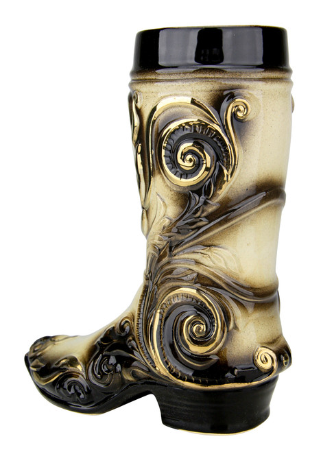 German Ceramic Beer Boot 0.4 Liter Mug