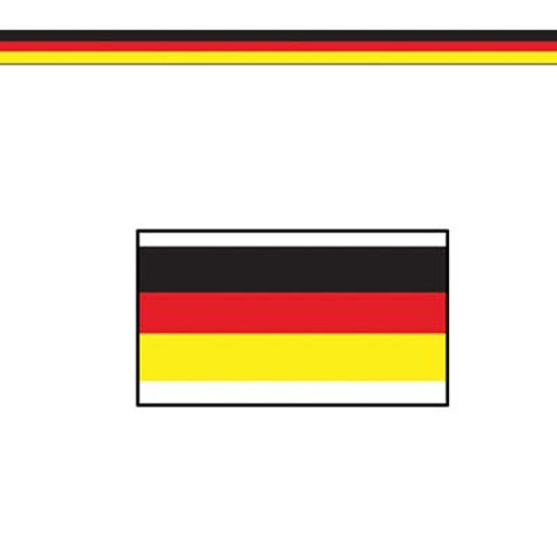 German Flag Poly Streamer