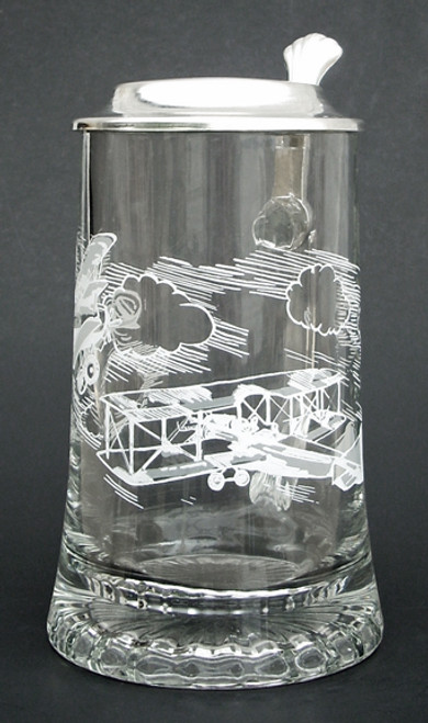 Aviator Glass Beer Stein