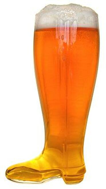 Das Boot Glass Beer Boot Mug 2 Liter from Beerfest