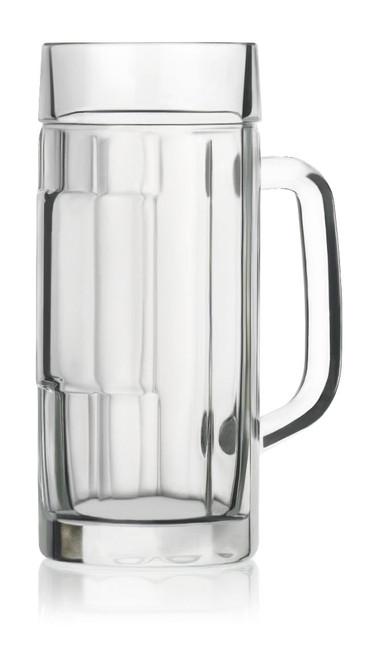 .3 Liter Glass Falkenstein Beer Mug, Empty