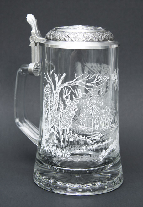 Custom Engraved German Stein - Perfect Gift for Hunters