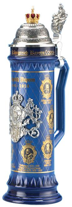 History of the Bavarian Kings Beer Stein