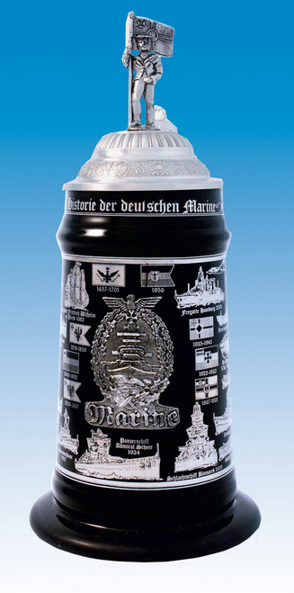 History of the German Navy Beer Stein