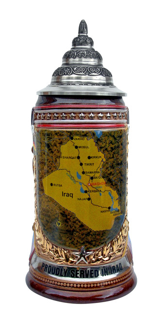 Iraq Commemorative Beer Stein