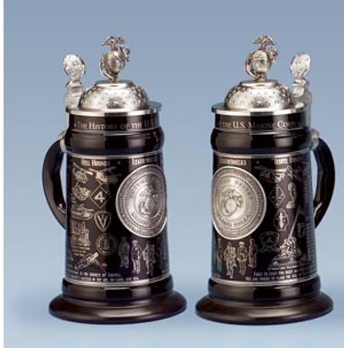 U.S. Marine Corps History Beer Stein