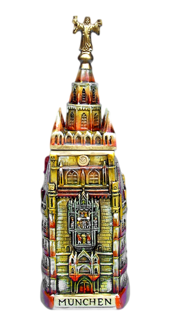 Munich Town Hall 3D Beer Stein