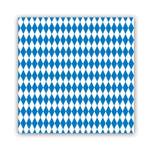 Oktoberfest Bavarian Flag Party Napkins 16pk