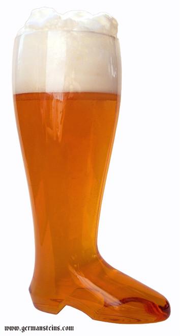 Plastic Beer Boot 24 pack 2 Liter