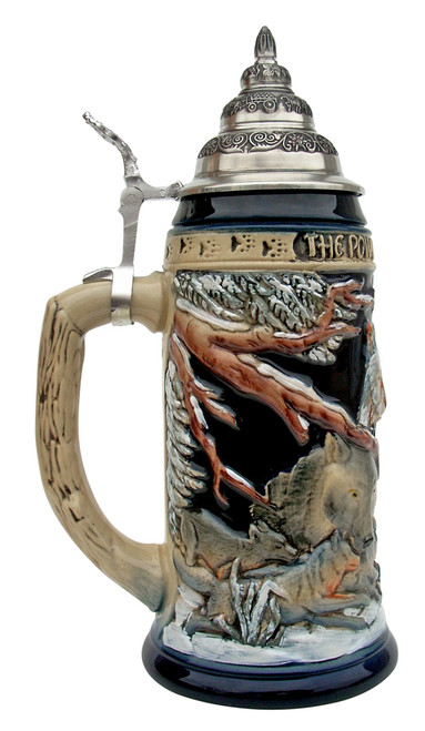 Power of the Pack Wolf Beer Stein