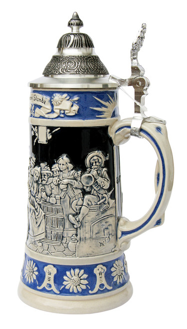 Ratskeller Card Cheat Beer Stein