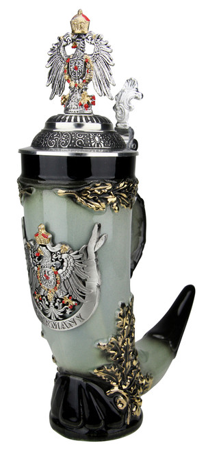 Royal Deutschland Drinking Horn Beer Stein
