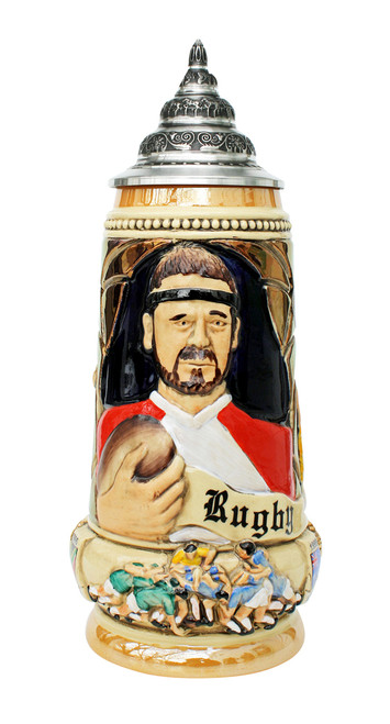 Rugby Beer Stein