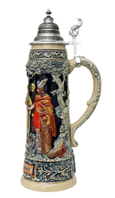 King Limitaet 2010 | Siegfrieds Return Handpainted Beer Stein