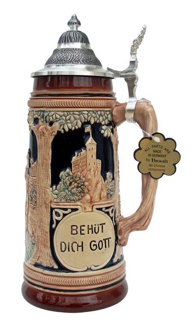 Trumpeter of Sackingen Beer Stein