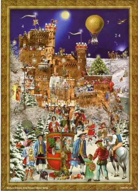 Victorian Castle Rheinstein German Advent Calendar