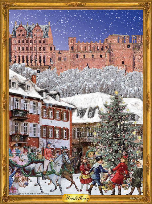 City of Heidelberg German Advent Calendar