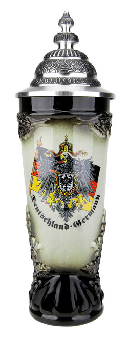 Drinking Horn German Beer Stein