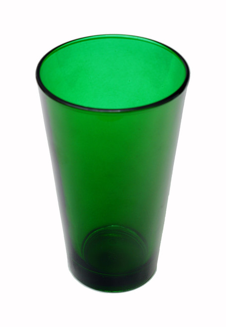 Custom Engraved Green Pint Beer Glass