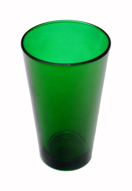 Custom Engraved Green Pint Beer Glass