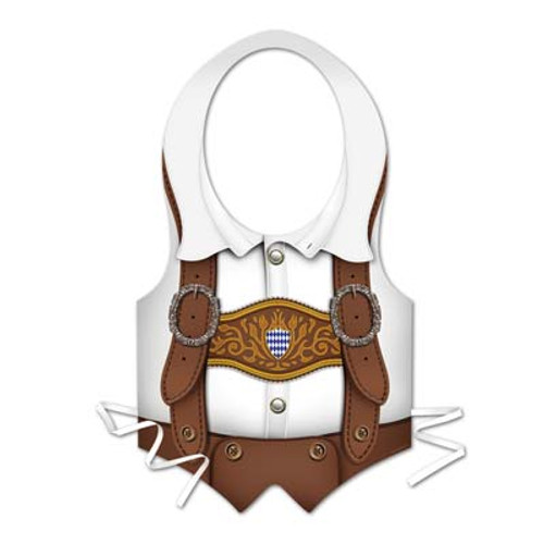 Oktoberfest Plastic Party Vest Male