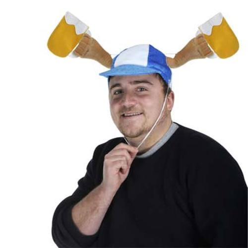 Beer Mug Toasting Oktoberfest Cap