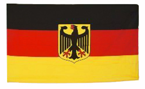 Germany Eagle Crest Flag 3' x 5'